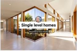 Single Level Homes