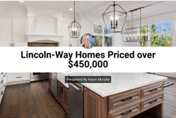Lincoln-Way Homes Priced over $450,000
