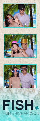 virginia Photo Booth Rental VA MD DC Strip Design for green sreen
