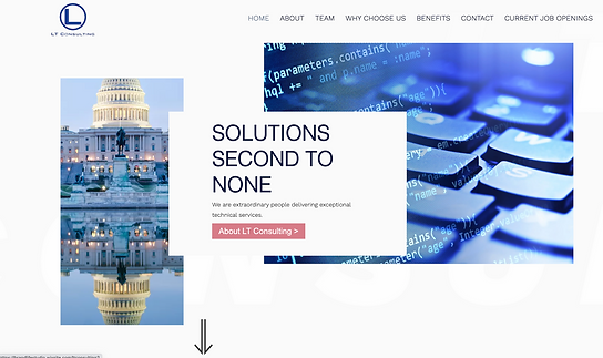 IT Company Corporate Website Design by B