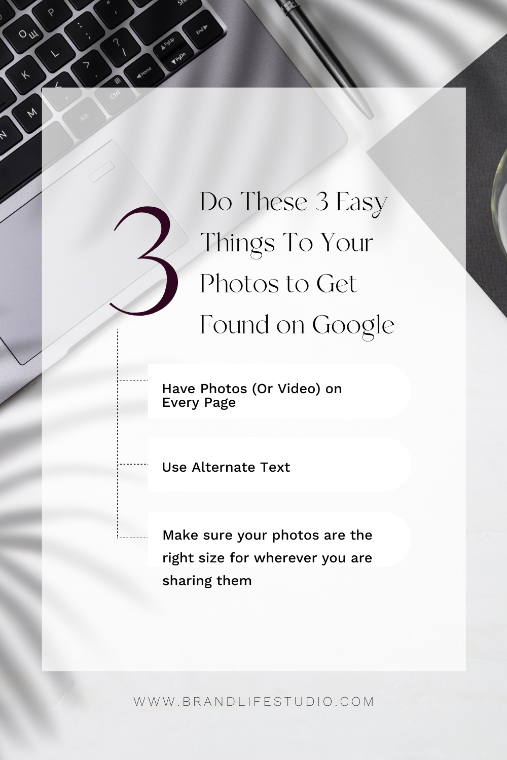 3 Easy Things to Do to your Photos to Get Found on Google