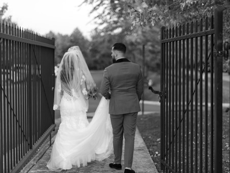 Ashely and Horacio at Foxchase Manor