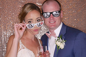 rose gold Backdrop Photo Booth Rental Virginia northen