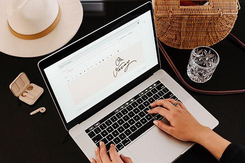 Blogger Working on Laptop.jpg