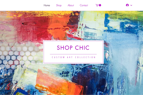 Shop Chic Website Template