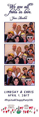 virginia Photo Booth Rental VA MD DC Strip Design