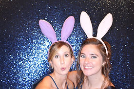 Blue Backdrop Photo Booth Rental VA MD DC