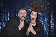 Holiday Photo Booth Rental VA MD DC Props