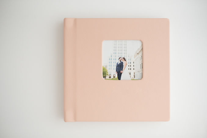 Wedding Album with Cameo Cover.JPG
