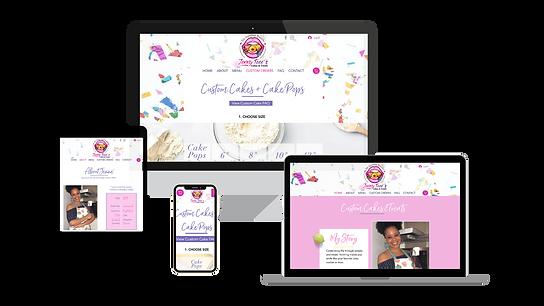 Jenny Teees Mock up Website multiple dev