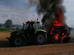 B2 - Traktorbrand am 30.07.2021