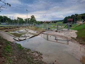 Das große Aufräumen nach dem Hochwasser