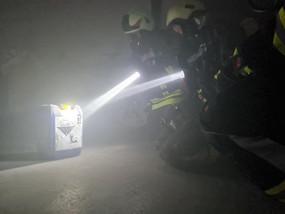 Übung: Brand in Tiefgarage mit Menschenrettung am 30.07.2021
