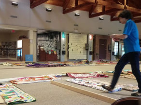 Time-Lapse of the Bucks County Quilt Show Set-Up