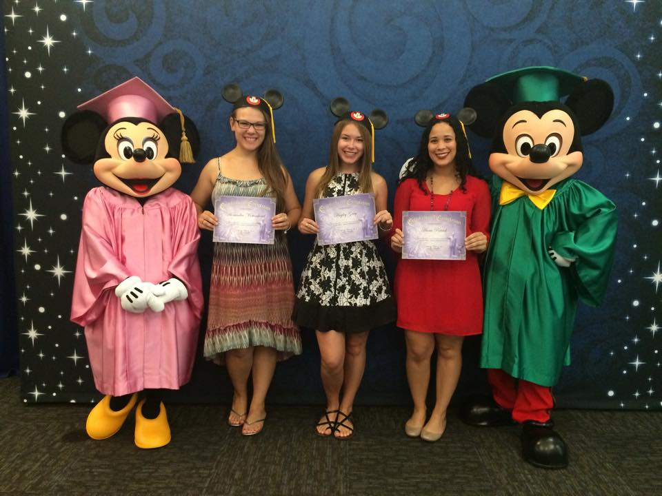 Disney College Program Graduation (2015)