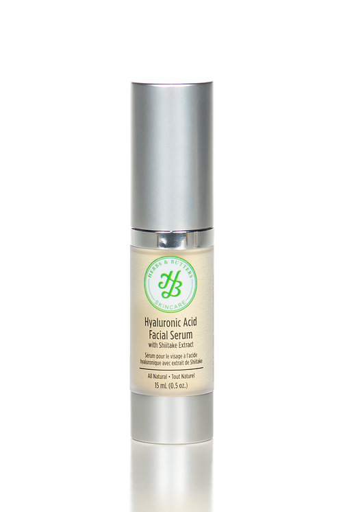 Hyaluronic Acid Face Serum with Shiitake extract