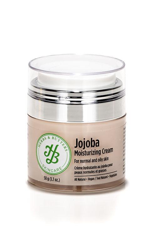 Jojoba moisturizing cream for normal to oily skin