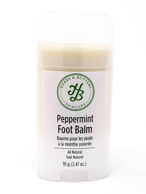 Peppermint Foot Balm