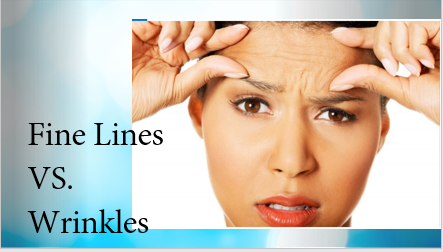 The Difference Between Fine Lines & Wrinkles