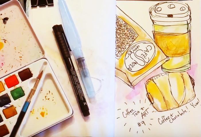 Coffee Tea & Art #9 Key Largo