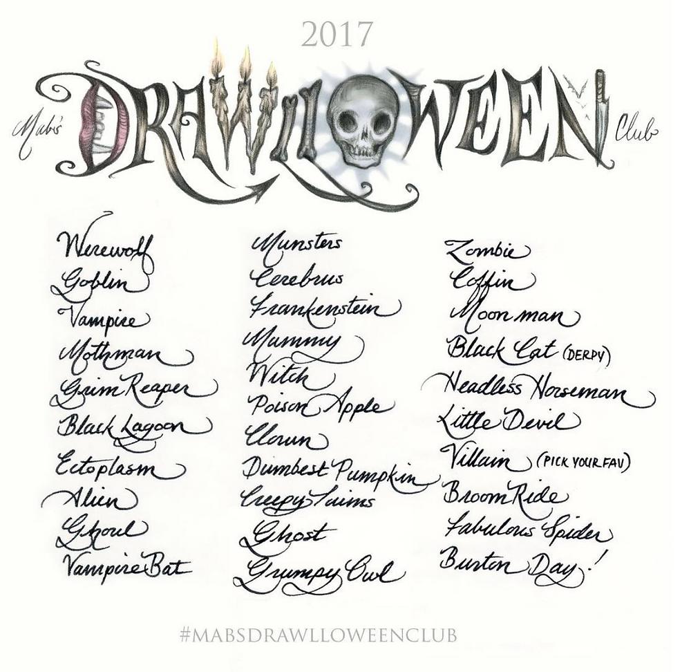 Mab Graves Drawlloween