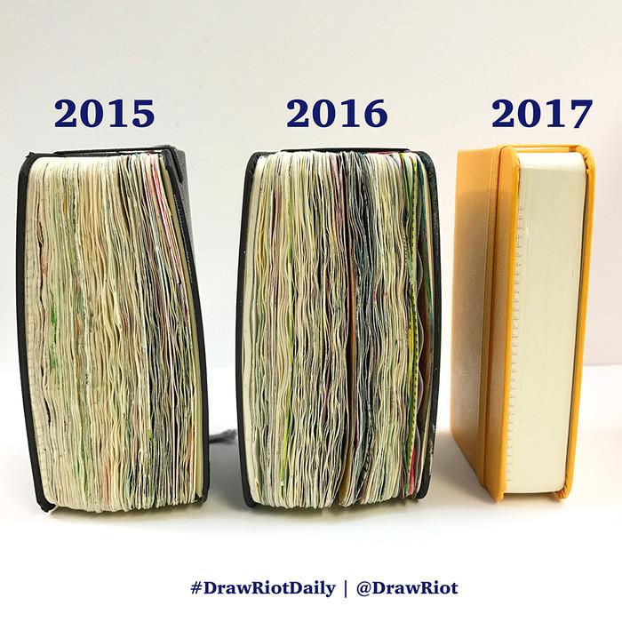 366 of 366 #DrawRiotDaily 2016