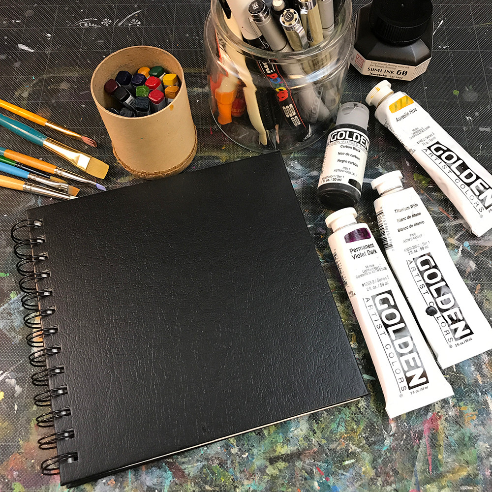 Sketchbook Practice 101