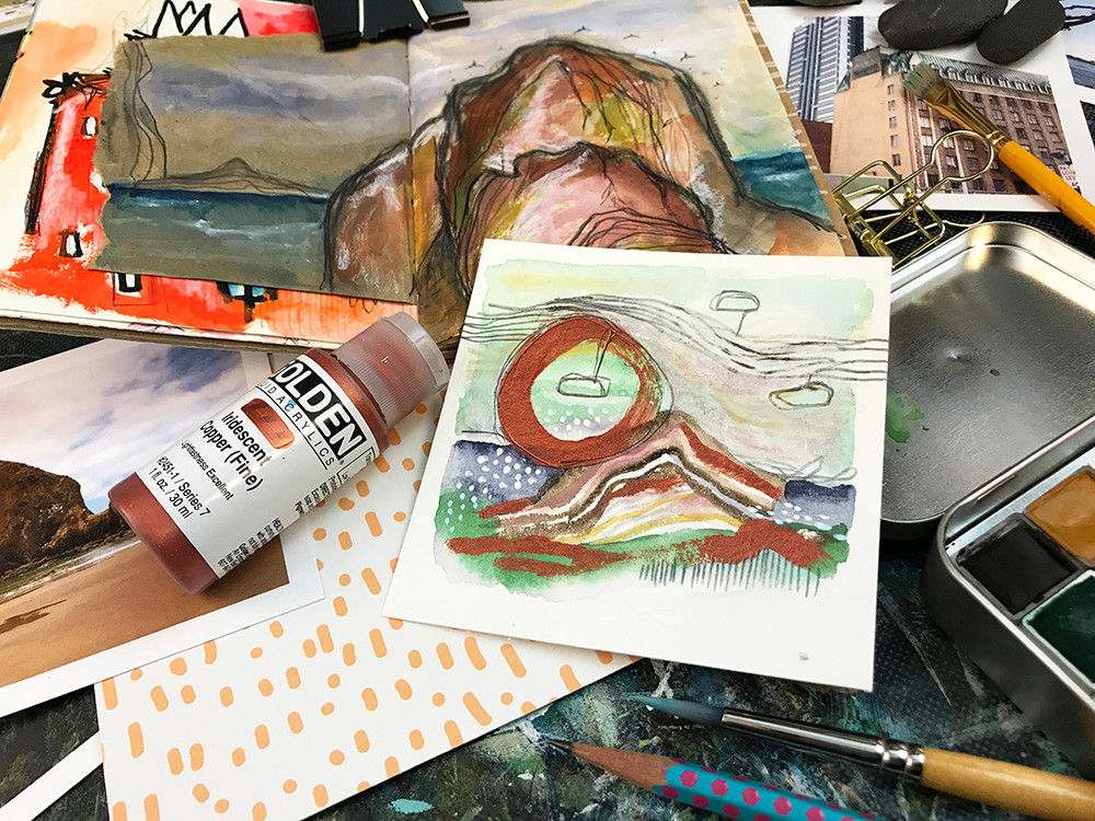 City & Sea Studio Study Series