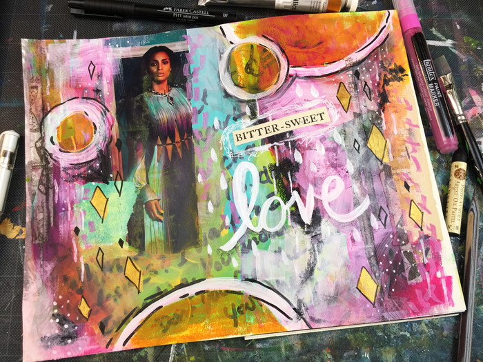 Coming up! Mixed Media Junk Journal Class at Homespun Indy!