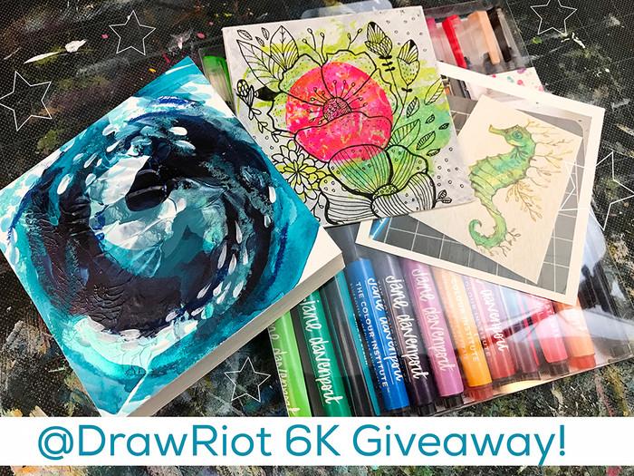 DrawRiot 6K Giveaway!