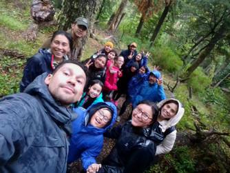 Micófilos Chile llegó hasta Villa O'Higgins para hablar sobre los hongos de la Región de Aysén