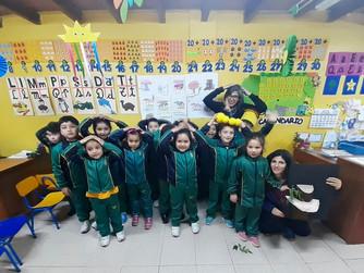 1000 científicos/1000 aulas en la Escuela Las Estrellitas de Colbún