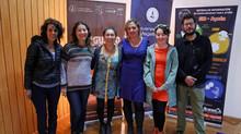 Lanzamiento del libro Hongusto en el Centro Universitario Coyhaique de la UMAG