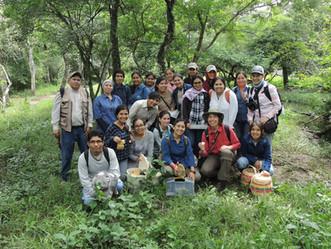 Fundadora de ONG Micófilos participó en Curso de Micología en Santa Cruz, Bolivia