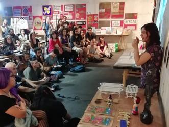 Exitosa charla de Microbosques en Mercado Guaira