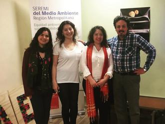 """Primera reunión para dar inicio al proyecto """"Hongos macroscópicos y líquenes presentes en Chile"""" dir"""