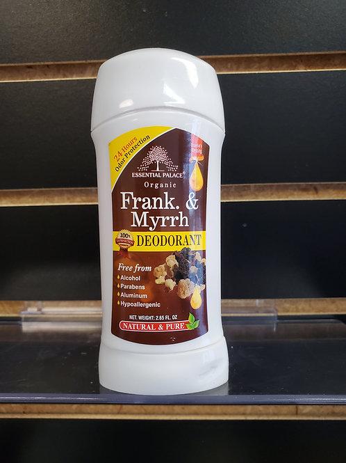 Organic Frank & Myrrh Deodorant