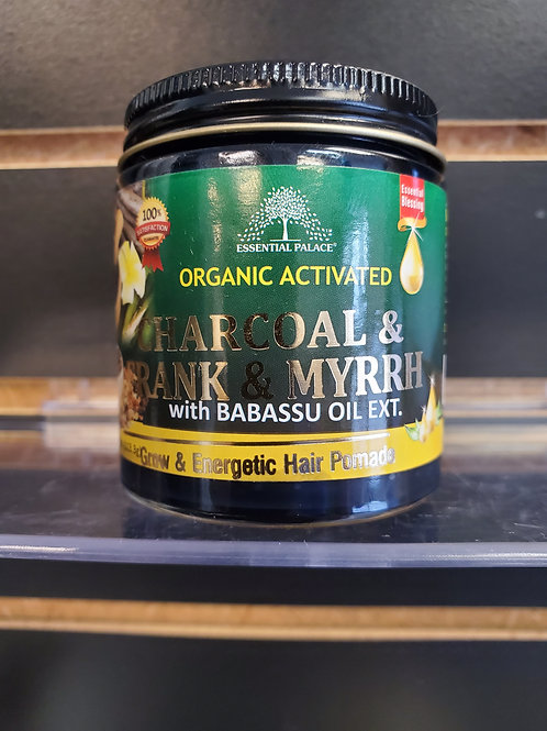 Organic Activated Charcoal & Frank& Myrrh with Babassu Oil Extract