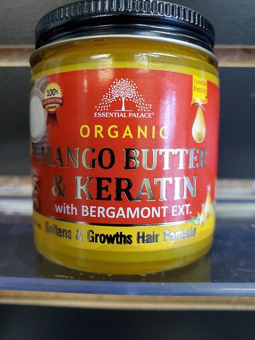 Organic Mango Butter & Keratin with Bergamont Extract