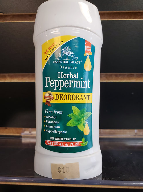 Organic Herbal Peppermint Deodorant