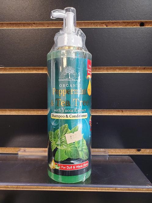 Organic Peppermint & Tea Tree Shampoo & Conditioner