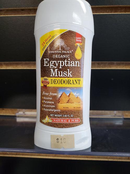 Organic Egyptian Musk Deodorant