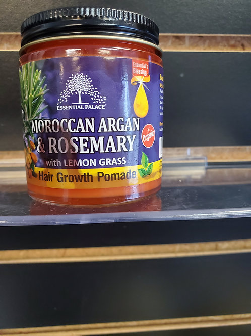 Organic Moroccan Argan & Rosemary with Lemon Grass Hair Pomade