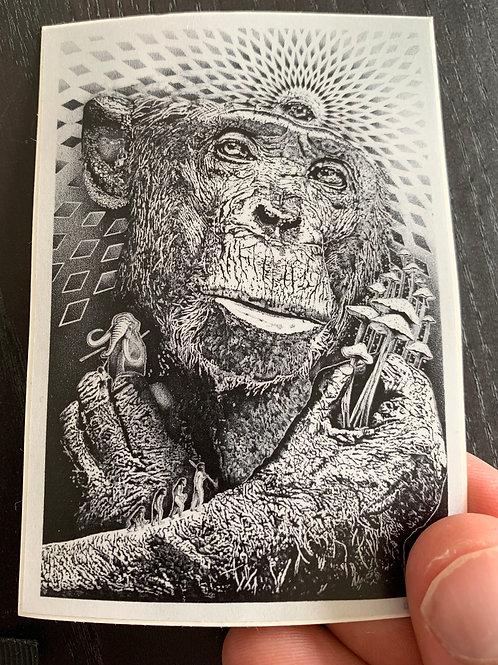 6 Stoned ape stickers
