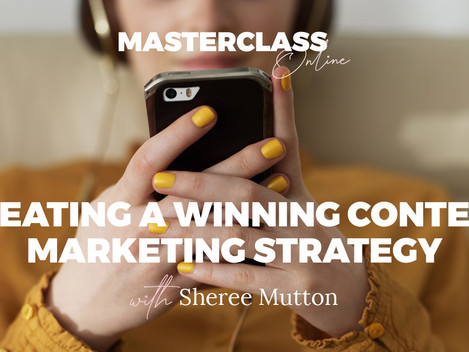 SHEREE MUTTON TO HOST BUSINESS CHICKS MASTERCLASS ONLINE