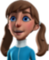 Girl 3D Character by The Animator's Modeler