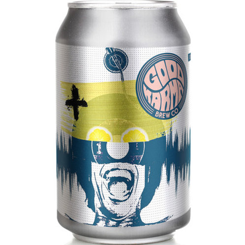 'Culture Shock' (AF) - Good Karma Beer Co. - Alcohol Free Lemon Radler - 0.5%