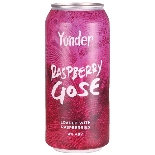 'Raspberry Gose' - Yonder Brewing - Raspberry & Sea Salt Sour - 4%