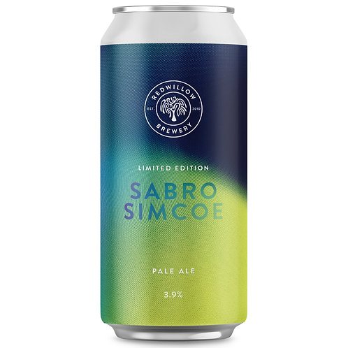 'Sabro Simcoe Pale' - Red Willow Brewery - Pale Ale - 3.9%