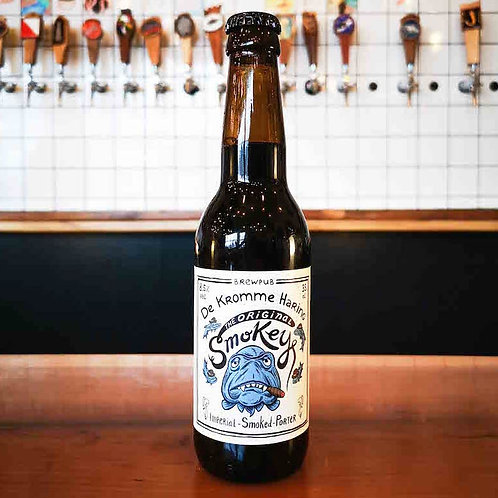 The Original Smokey - De Kromme Haring -  Imperial Smoked Porter - 8.5%
